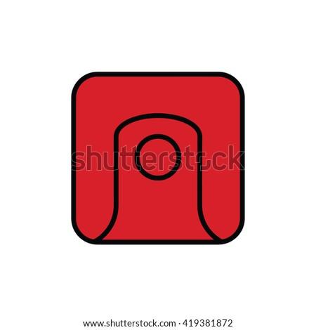 Mayan Calendar Symbol Solar Seal Icon Stock Vector Royalty Free