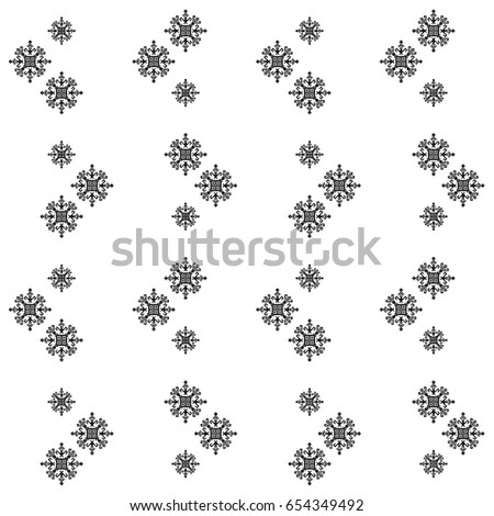 Mayan Fabric Geometric Decorative Print American Stock Vector