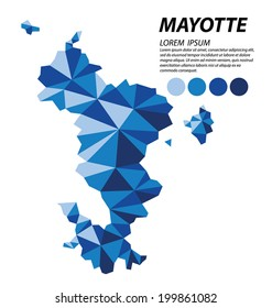 Mayotte geometric concept design