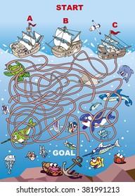 Maze of anchor