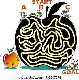 maze of apple