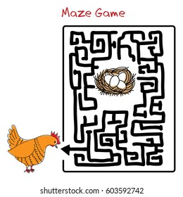 Maze game.Find your way.