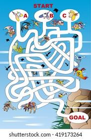Maze of monster