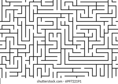 Maze pattern with seamless tile