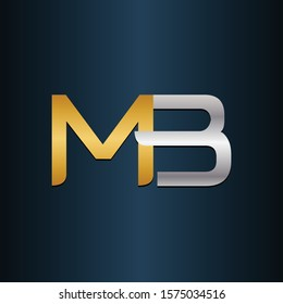 MB BN Double Initial Letters Logo