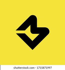mb lm lm letter logo vector design