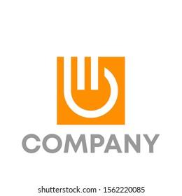 mb logo vector design template sign