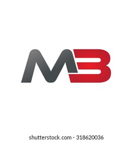 MB M3 company group linked letter logo