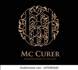 MC Celtic ornament, decorative logo