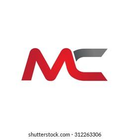 MC company linked letter logo
