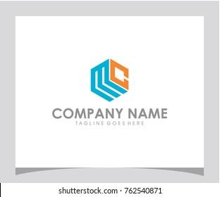 MC initial logo design