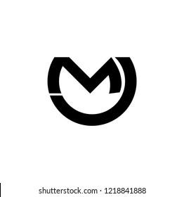 mc letter vector logo. cm letter vector logo