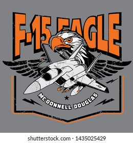 McDonnell Douglas F-15 EAGLE - Vektor