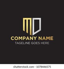 MD Initial Logo