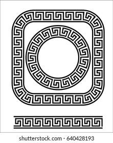 Meander. Greek Ornament