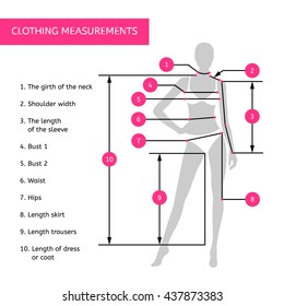 Body Measurements Images, Stock Photos & Vectors | Shutterstock