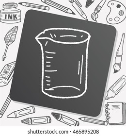 Measuring cup doodle