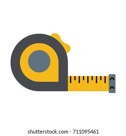 measuring tape tool icon image