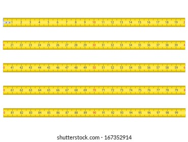 measuring tape for tool roulette vector illustration isolated on white background