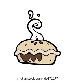 meat pie cartoon