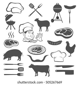 Meat and set of tools