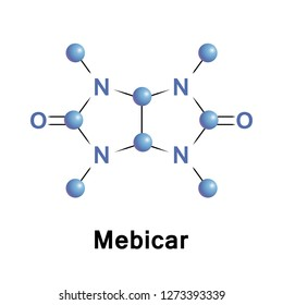 Mebicar is an anxiolytic medication