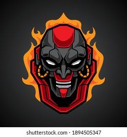 Mecha Skull E Sport Logo
