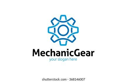 Mechanic Gear Logo
