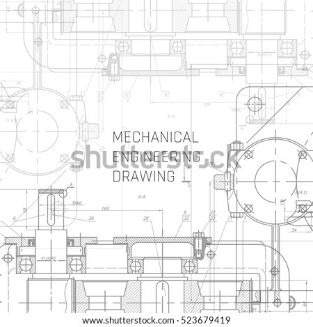 mechanical engineering drawing engineering drawing background の