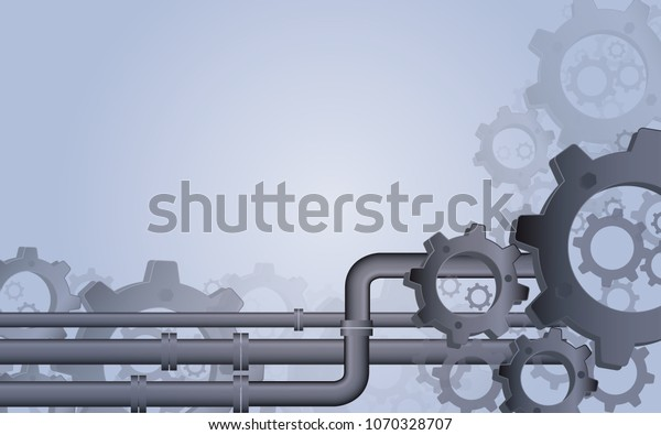Vector De Stock Libre De Regalías Sobre Mechanical Gear