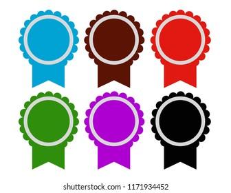 Medal different color