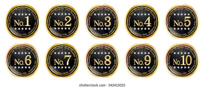 Medal Frame Gold Icon