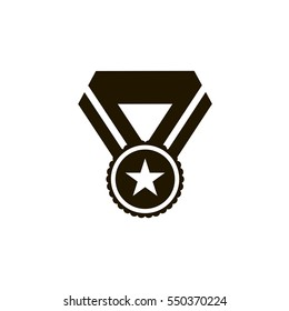 medal icon. sign design