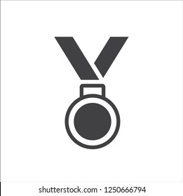 Medal Icon in trendy flat style isolated on white background