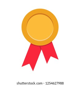 medal icon in trendy flat style, award vector icon