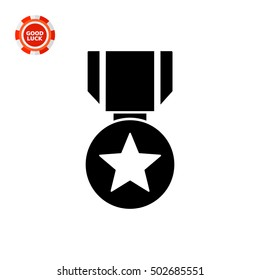 Medal simple icon