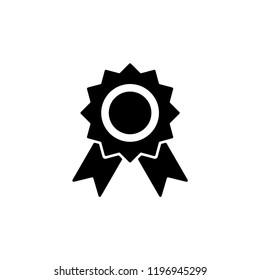 Medallion vector icon