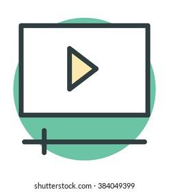 Media Player Vector Icon
