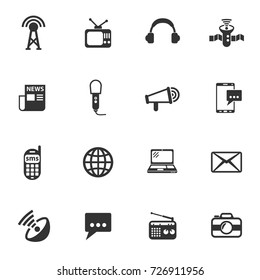 media vector icons for your creative ideas