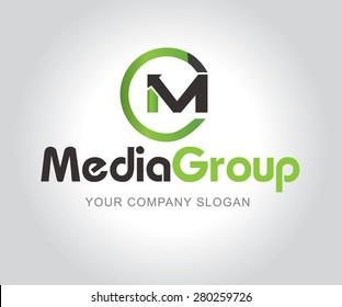 media vector logos