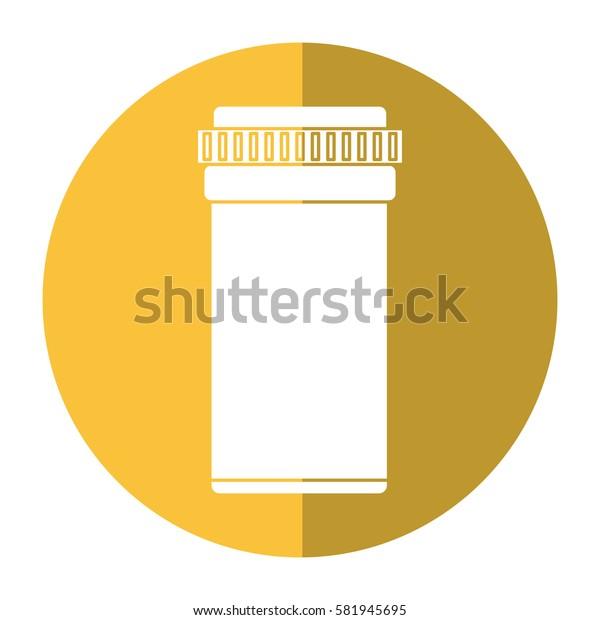 medical bottle pills pharmacy shadow
