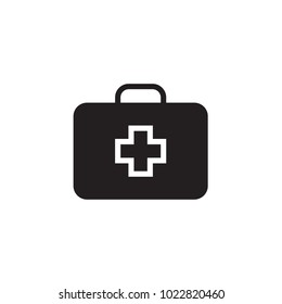 Medical box Icon Vector illustration, EPS10