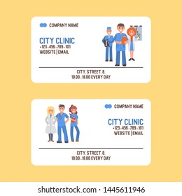 Business Card Medic Stock Vectors, Images & Vector Art