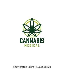 medical cannabis emblem