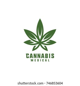 medical cannabis emblem