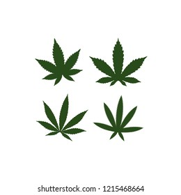 medical cannabis emblem, logo