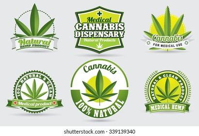 medical cannabis graphics