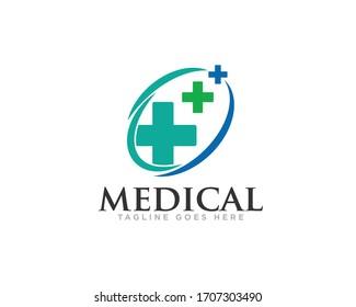 Medical Care Logo Design Vector