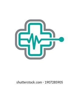 Medical care logo images illustration design