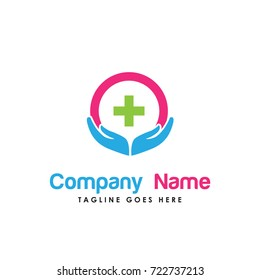 medical care logo vector